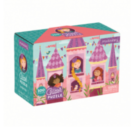 PUZZLE PRINCESSES PAILLETTES (100 PCS)