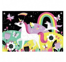 PUZZLE GLOW IN THE DARK LICORNE (100 PCS)