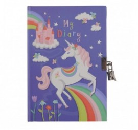 JOURNAL INTIME UNICORN RAINBOWS