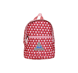 SAC A DOS XS TRIANGLE ROSE