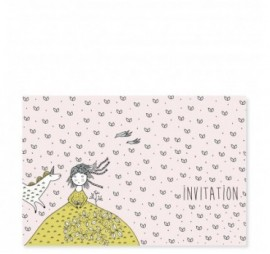 MES INVITATIONS LICORNE