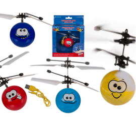 BALLE HELICOPTERE FUNNY FACE 16 CM