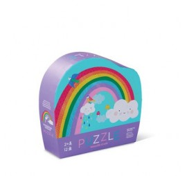 MINI PUZZLE RAINBOW (12 PIECES)