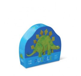 MINI PUZZLE STEGOSAURUS (12 PIECES)
