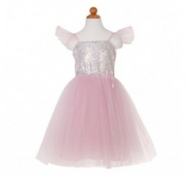 ROBE DE PRINCESSE SEQUINS CHATOYANTS