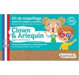 KIT 3 COULEURS CLOWN & ARLEQUIN