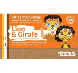 KIT 3 COULEURS LION & GIRAFE
