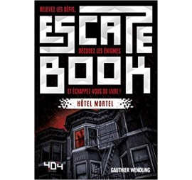 ESCAPE BOOK – HÔTEL MORTEL