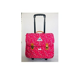CARTABLE TROLLEY 38CM LIBERTY STRAWBERRY