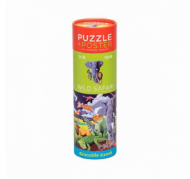 PUZZLE WILD SAFARI (100 PIECES)