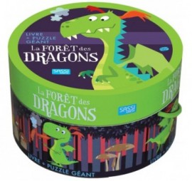 LA FORET DES DRAGONS PUZZLE 30 PIECES