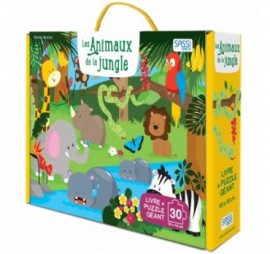 LES ANIMAUX DE LA JUNGLE PUZZLE 30 PIECES
