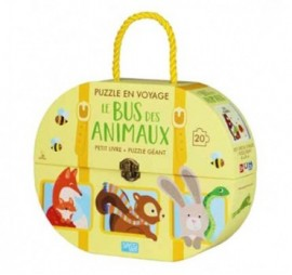 LE TRAIN DES ANIMAUX PUZZLE 20 PIECES