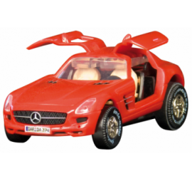 MERCEDES BENZ SLS AMG ROUGE