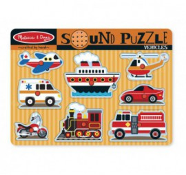 PUZZLE SONORE VEHICULES