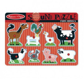 PUZZLE SONORE ANIMAUX FERME