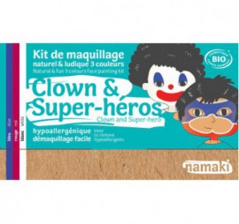 KIT DE 3 COULEURS CLOWN & SUPER-HEROS