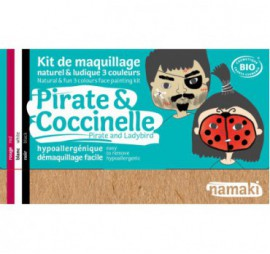 KIT DE 3 COULEURS PIRATE & COCCINELLE