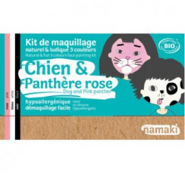 KIT 3 COULEURS CHIEN & PANTHERE ROSE