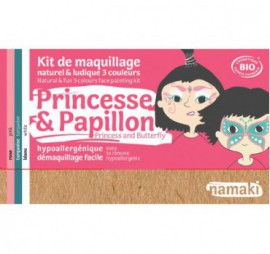 KIT DE 3 COULEURS PRINCESSE & PAPILLON