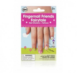 FINGERNAIL FRIENDS & CUTICLE TATTOOS - FAIRYTALE