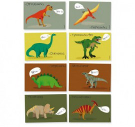 MES INVITATIONS DINOSAURES