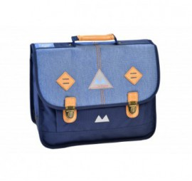 CARTABLE 38 CM BLUE JEAN